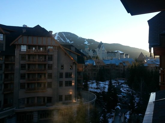 Four Seasons Resort and Residences Whistler: Just finished another day on the slopes