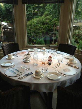 Claremont House : Sumptuous breakfast.