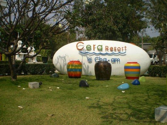 Cera Resort Chaam: Главная клумба