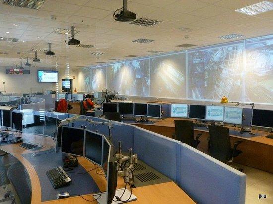 CERN Univers de particules: ATLAS command center