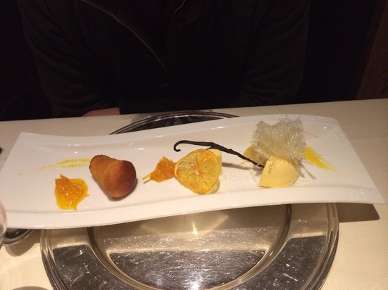 Rosapetra Spa Resort: Semifreddo al mandarino
