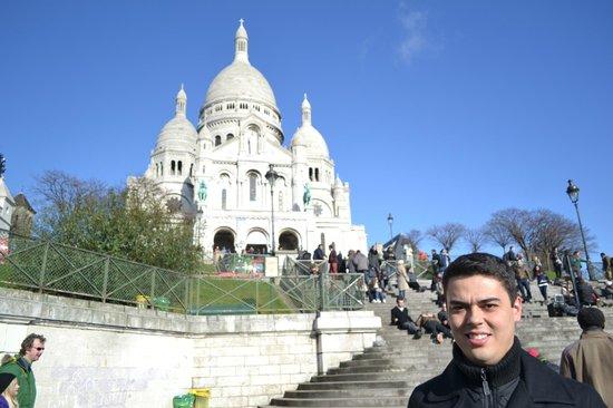Hôtel Bellevue Paris Montmartre : Sacré-Coeur - próximo ao Hotel Bellevue