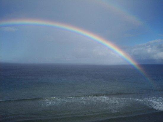 Aston Mahana at Kaanapali : beautiful views and rainbows are frequent