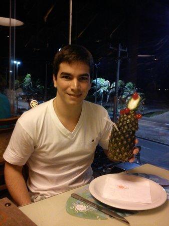 Drink especial da Cabana do Sol