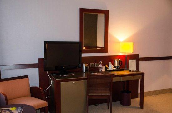 Couvent des Minimes - Alliance Lille : Le bureau dans la chambre