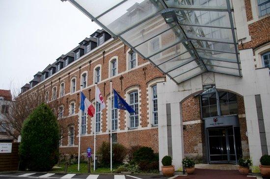 Couvent des Minimes - Alliance Lille : L'entrée de l'hôtel