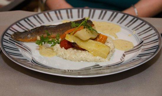 Couvent des Minimes - Alliance Lille : Le repas poisson du repas gastronomique
