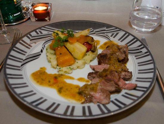 Couvent des Minimes - Alliance Lille : Le plat viande du repas gastronomique