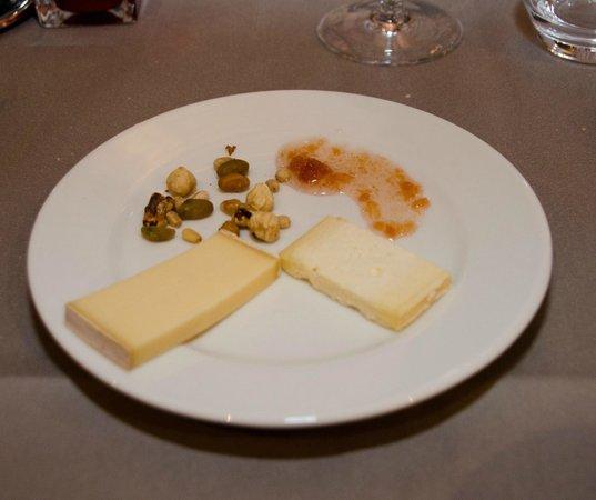 Couvent des Minimes - Alliance Lille : Le plateau fromage du repas gastronomique