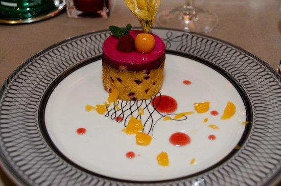 Couvent des Minimes - Alliance Lille : Dessert du repas gastronomique