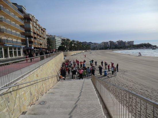 Carlos I Hotel: gym op het strand hele jaar door
