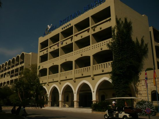 Aquila Rithymna Beach Hotel : Главный корпус