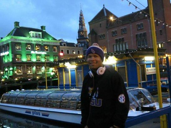 Dam Platz: Baton Rouge made it to Amsterdam