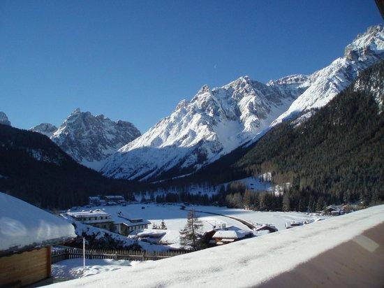 Biovita Hotel Alpi: vista dalla nostra camera