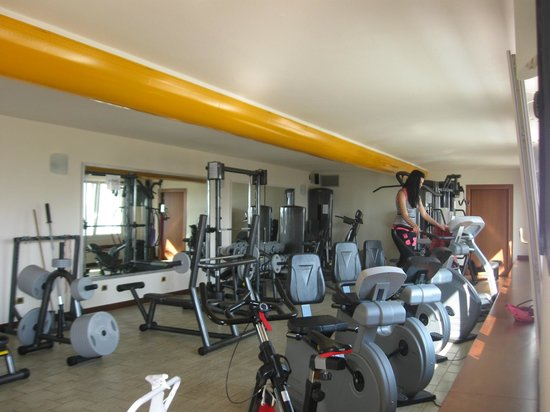 Poiano Resort Hotel: Palestra