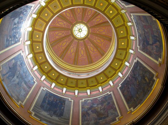 Alabama State Capitol: Inside view of the dome