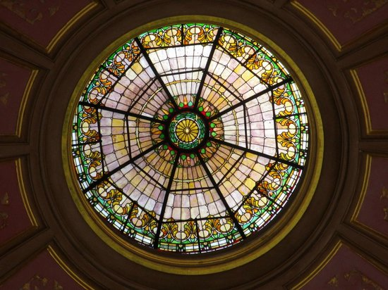Alabama State Capitol: Very center of inside dome