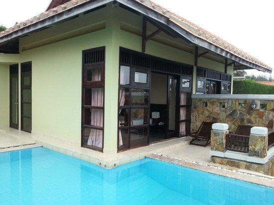 Romana Resort & Spa: Private Pool Beach Front Villa