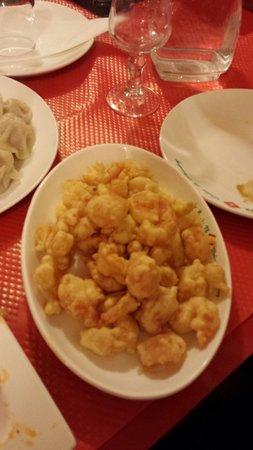 Delice de Shandong: Crevettes frites