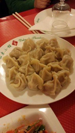Delice de Shandong: Raviolis faits maison