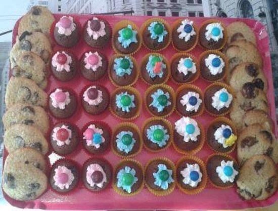 Lilou : Minicupcakes et cookies