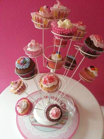 Lilou : arbre à cupcakes