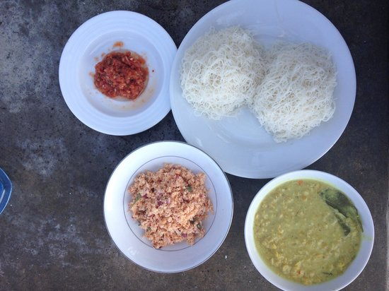 Beach Inns: Srilankan yummy breakfast!!!