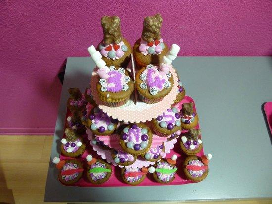 Lilou : Cupcakes anniversaire