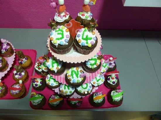 Lilou : Gateau d'anniversaire
