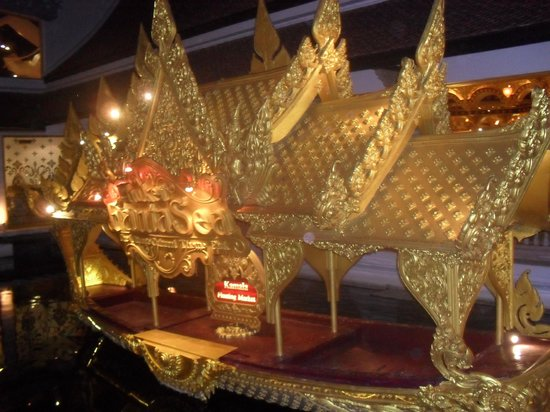 Phuket FantaSea: The beautiful gold Banquet rooms