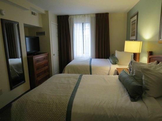 Staybridge Suites Ft. Lauderdale Plantation: Duas camas queen