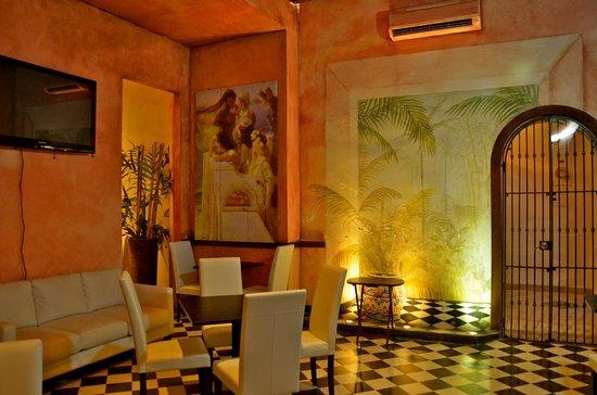 La Terraza de San Juan: Dining area for morning breakfast