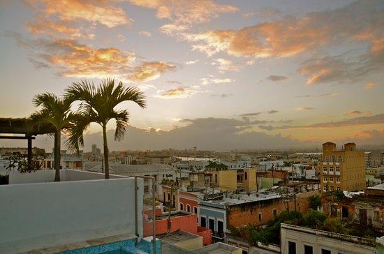 La Terraza de San Juan: View of the city from the rooftop