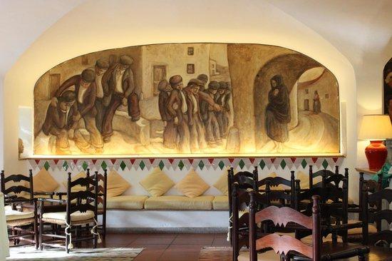 Su Gologone: reception room