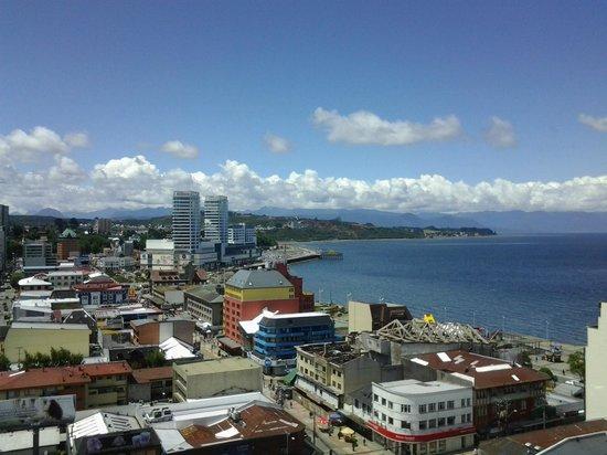 Hotel Gran Pacífico: Vista del mar