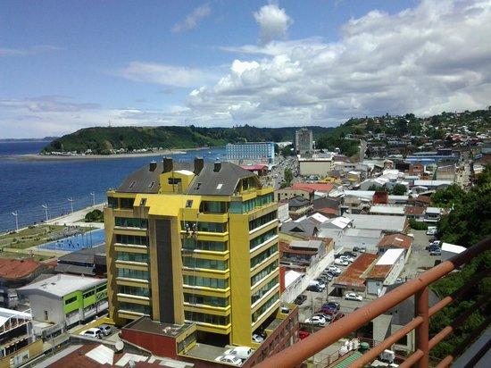 Hotel Gran Pacífico: Desde el balcon del comedor