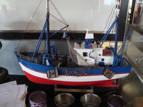 Oliveira Dourada: barco