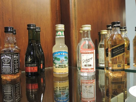 Sofitel Philippine Plaza Manila : Mini Bar in the room