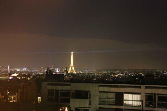 Hotel Carlton's: Torre Eiffel dal 8' piano