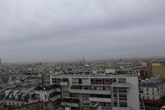 Hotel Carlton's: Torre Eiffel dalla terrazza panoramica