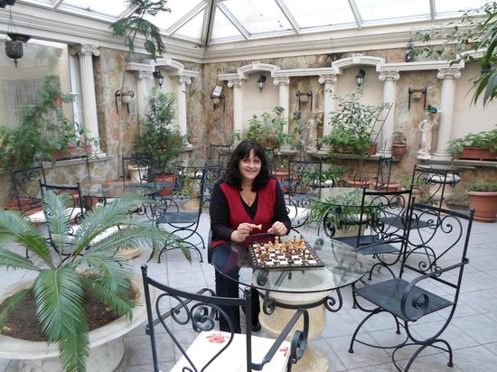 Nena Hotel: Conservatory