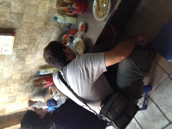 Hanoi Motorbike Street Foods   Day Tours: Good Soup, Tiny Tables And Stools!