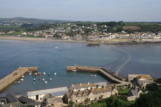 St. Michael's Mount: View from the top