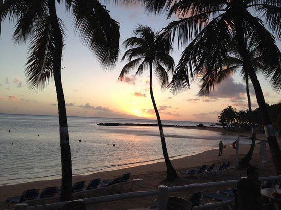 Windjammer Landing Villa Beach Resort : Sunset at Jammers