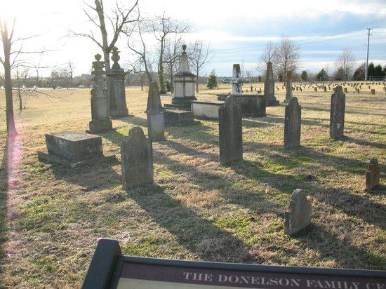 Andrew Jackson's Hermitage: Donelson Family Grave Site