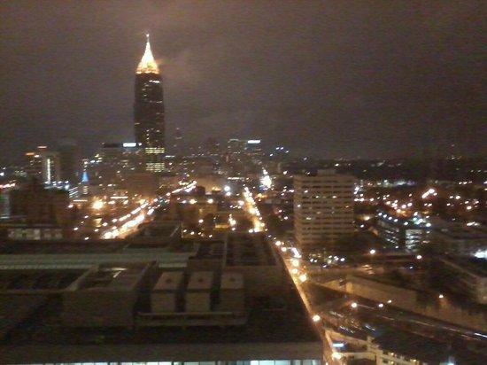 Atlanta Marriott Marquis : Atlanta Night View from the room