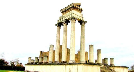 Archaeologiepark Xanten : Harbour Temple