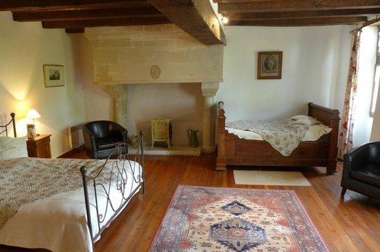 Le Petit Hureau: our room