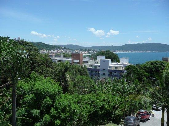 Pousada Palmeiras: vista panoramica para o mar