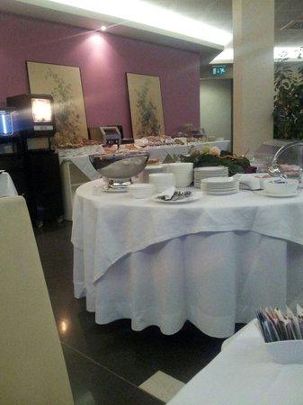 Hotel Expo Verona: Sala colazione